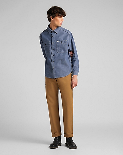 101 Workwear Shirt in Rinse