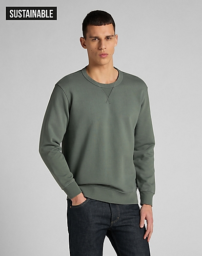 101 Crewneck Sweatshirt in Laurel Green