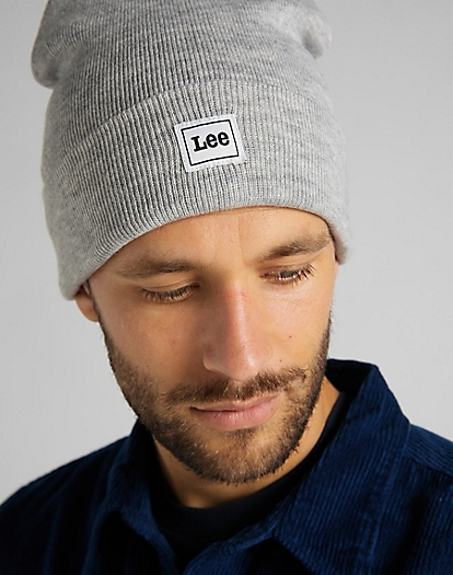 Core Beanie in Sharp Grey Mele