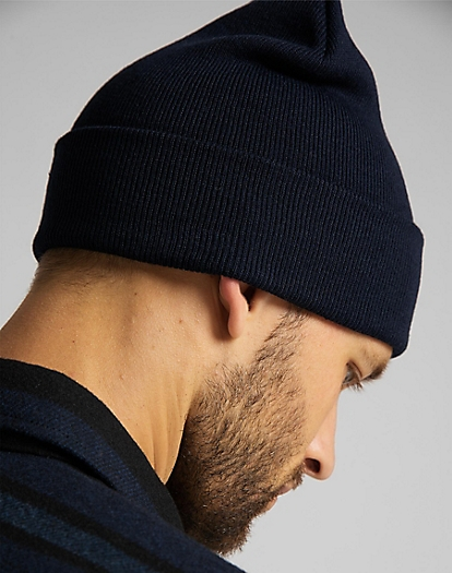 Core Beanie in Navy